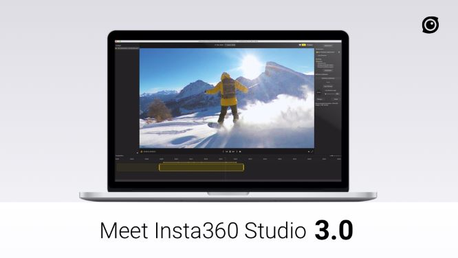 Insta360 Studio for One X version 3.2