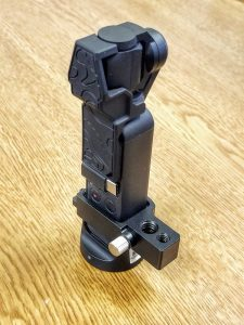 PolarPro Osmo Pocket can be used with the wireless adapter and some tripod adapters