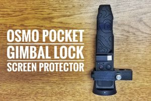 PolarPro Osmo Pocket Gimbal lock and screen protector