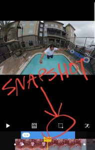 How to take a snapshot from your 360 video or 360 photo