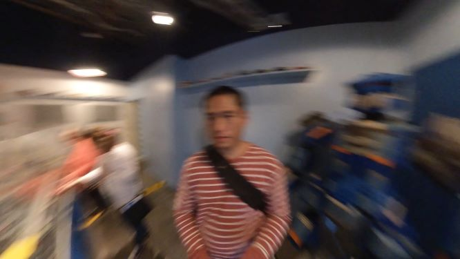 Insta360 One X blur (motion blur) from slow shutter speed
