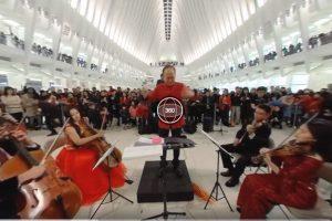 World Trade Center concert shot on Kandao Qoocam