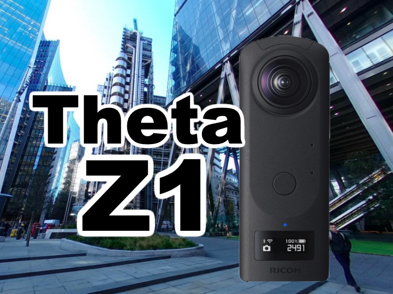 Ricoh Theta Z1 review and sample photos