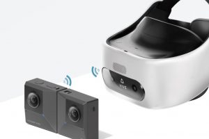 Insta360 One X and Insta360 EVO wireless viewing on HTC Vive and Vive Focus