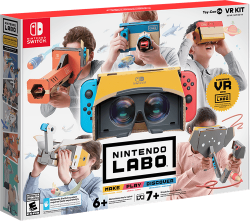 Nintendo Labo VR Review: learn coding your own games in VR