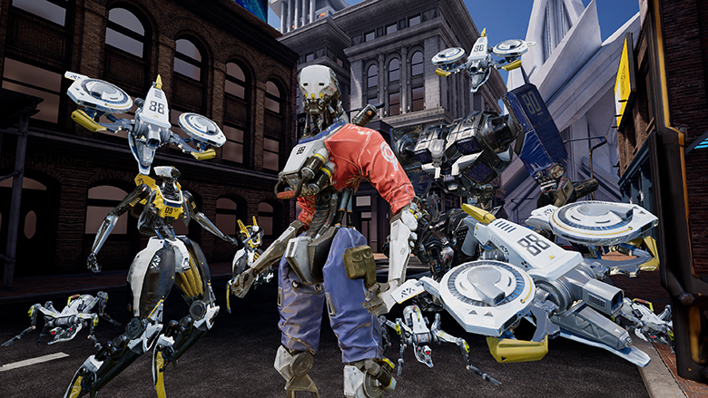 Robo Recall for Oculus Quest screenshots