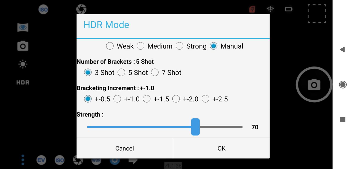 Aleta S2C HDR mode