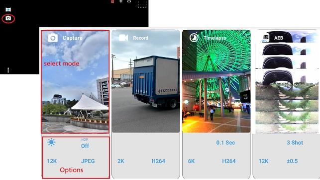 new Aleta UI in app 1.02
