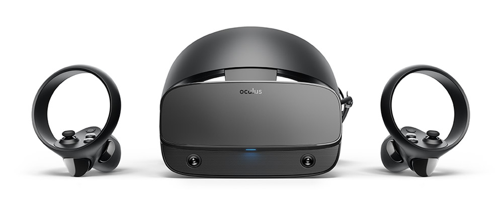 Oculus Rift S desktop VR headset with no external sensors