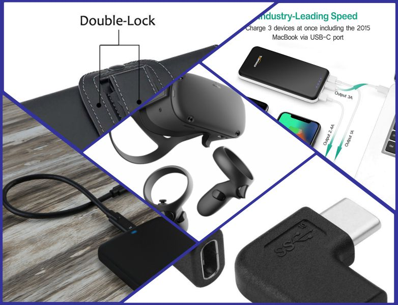 Oculus Quest battery pack extends battery life, improves comfort