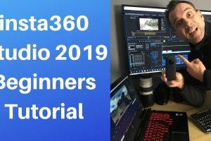 Beginners' guide to Insta360 Studio 2019
