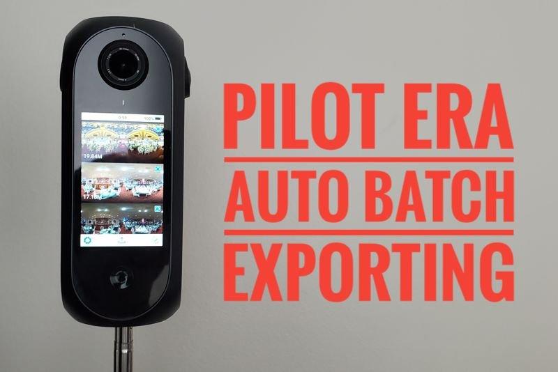 Pilot Era batch exporting