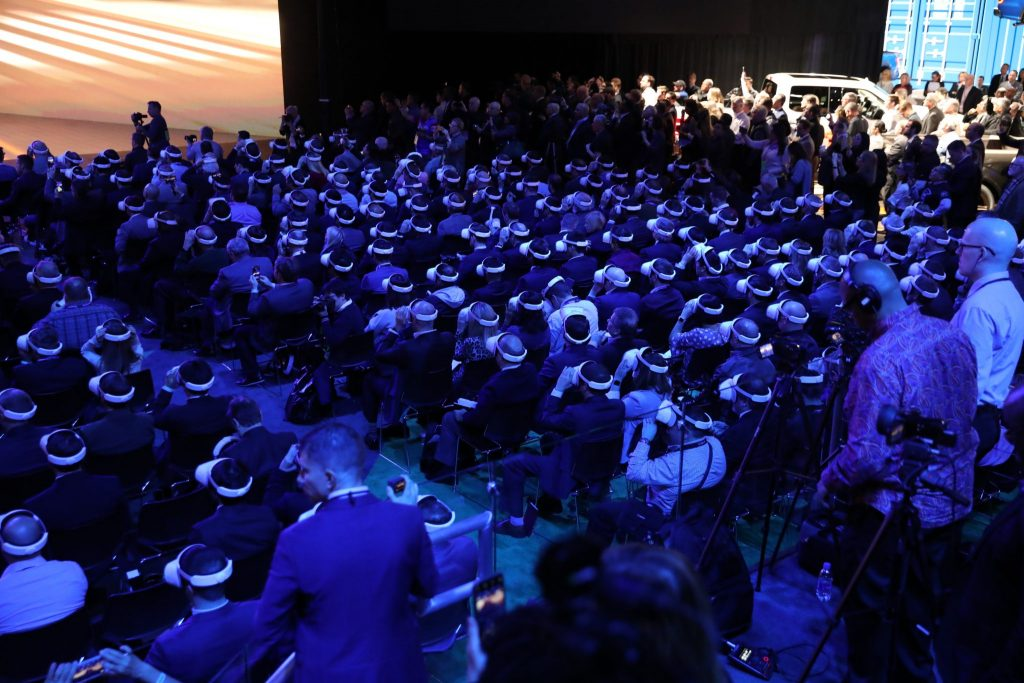 VR Sync used to present a 360 video simultaneously to more than 750 people
