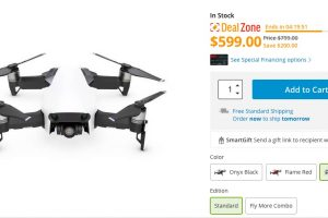 DJI Mavic Air discount $599