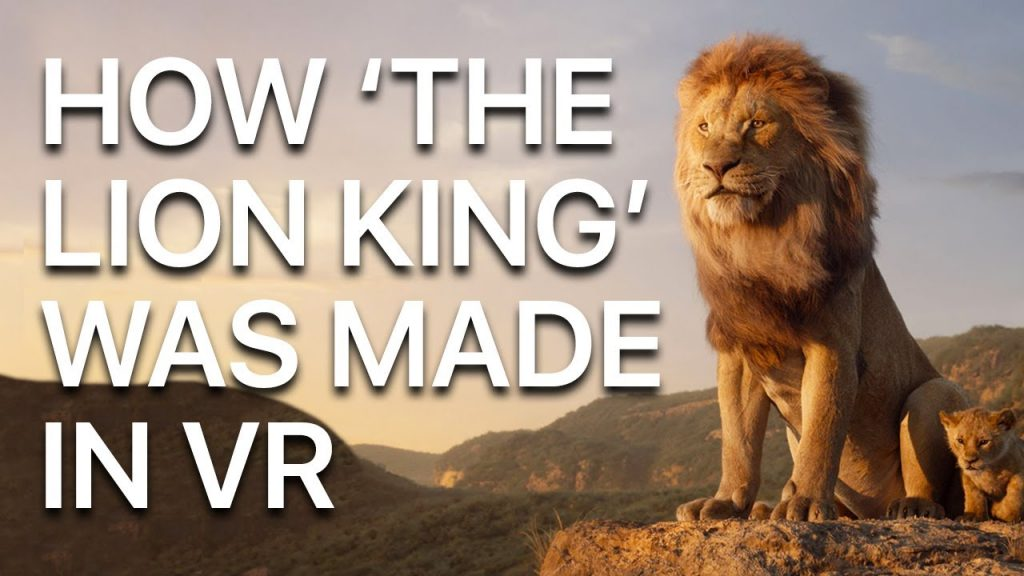 How Lion King 2019 was created in VR