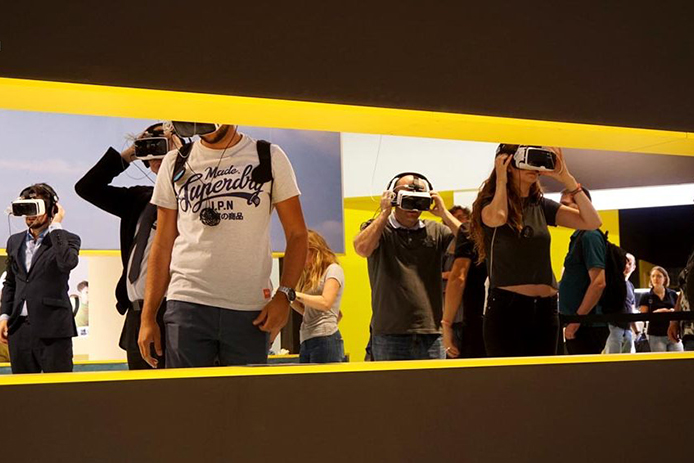 Nikon used VR Sync for its Photokina booth