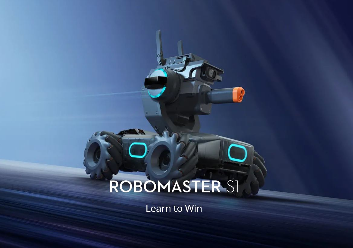 DJI Robomaster S1: awesome robo dolly?