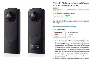 Ricoh Theta Z1 in stock