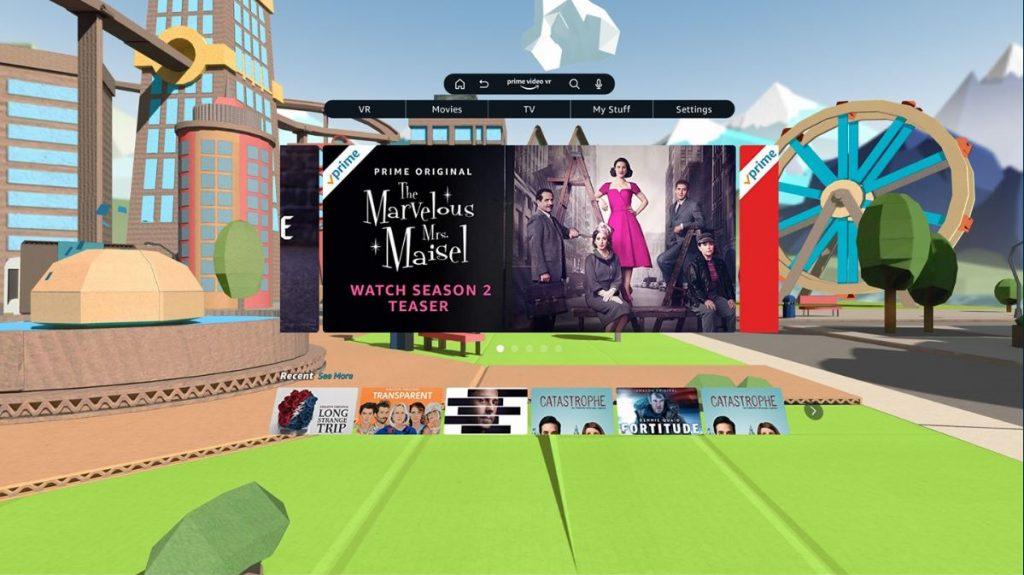 Amazon Prime Videos in VR