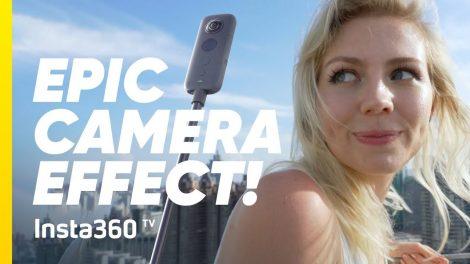 Insta360 TV launches; vertical donut shot tutorial