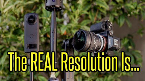 XPhase 360 camera real resoluton