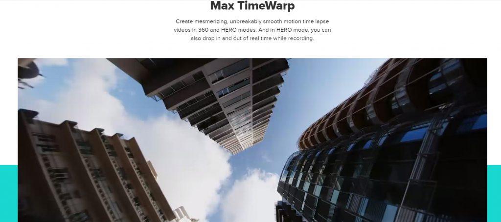 GoPro Max TimeWarp (hyperlapse)