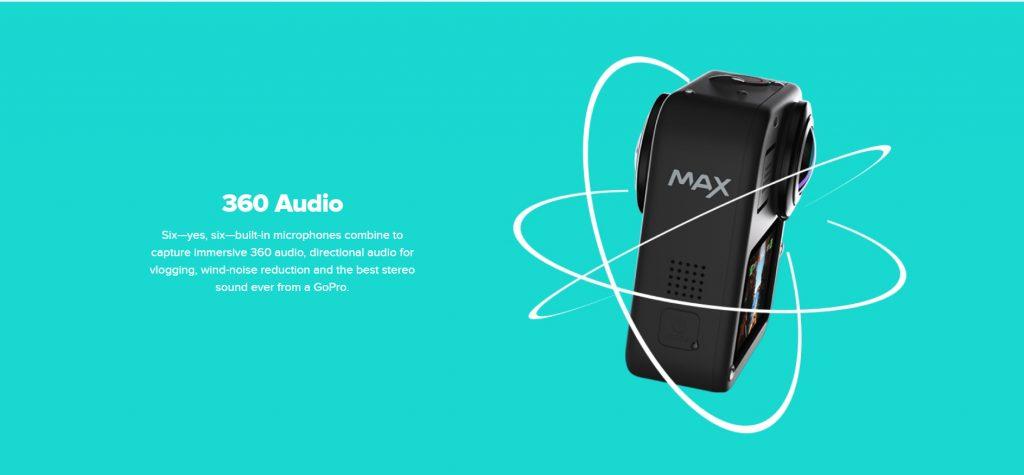 GoPro Max spatial audio
