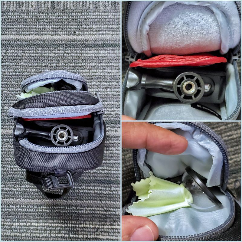 LowePro Portland has 3 compartments