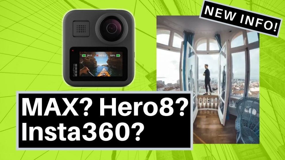 GoPro MAX complete specs, GoPro MAX vs Hero 8, GoPro MAX vs Insta360