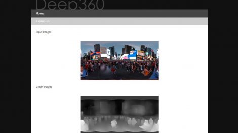 Deep360 converts 2D 360 photos into 3D 360