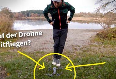 360 camera technique: ride your drone