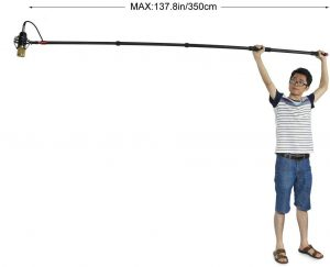 ultimate selfie stick for 360 cameras