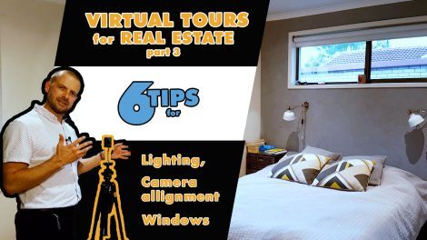 6 Tips for Creating Real Estate Virtual Tours with a 360 camera
