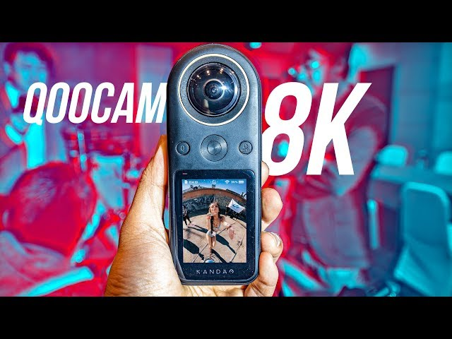 Kandao Qoocam 8K first impressions by CreatorUp
