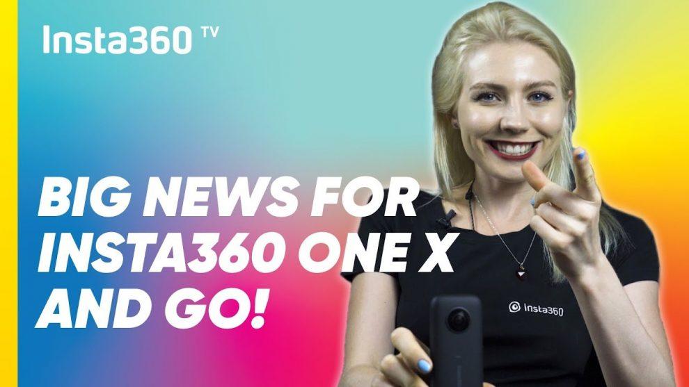 Insta360 One X updates and rumors