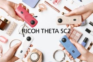 Ricoh Theta SC2 is an entry-level 4K 360 camera