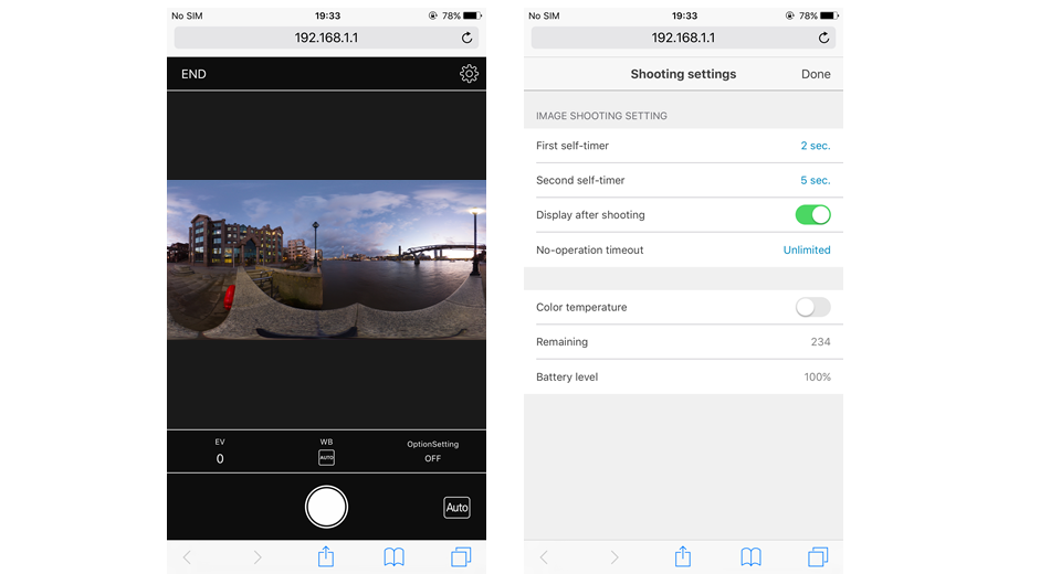 Disappear from 360 photos with Timeshift plugin