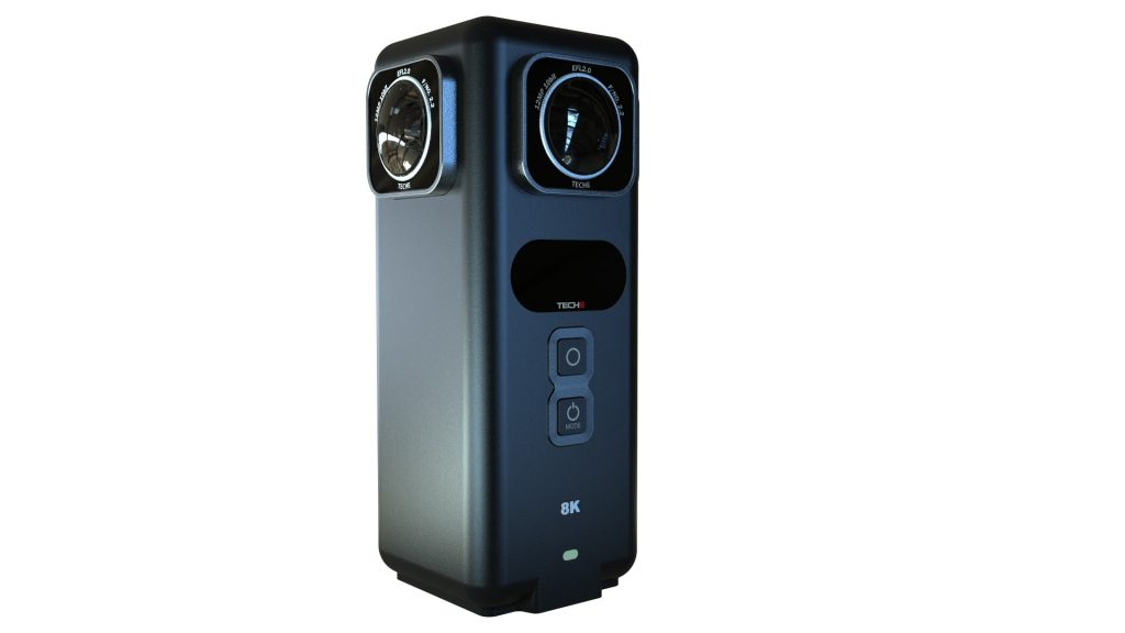 Teche 360 Anywhere 8K 360 camera with realtime stitching