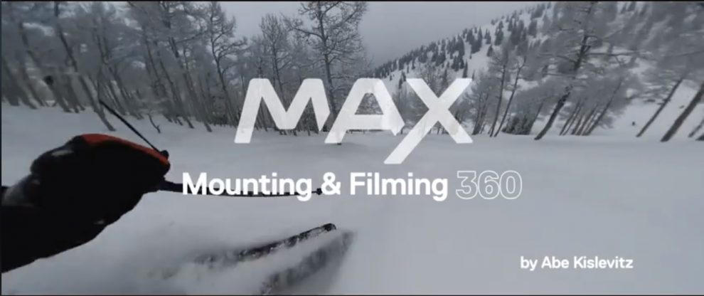 GoPro MAX shooting tips