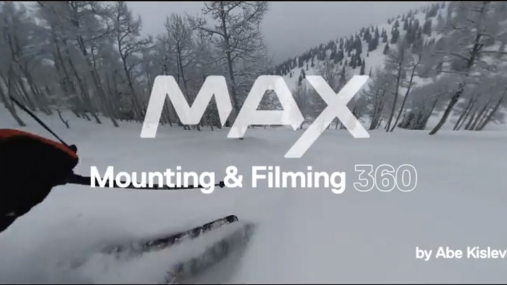 GoPro MAX shooting tips