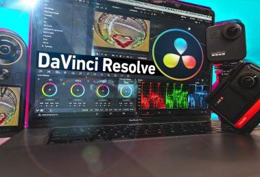 Davinci Resolve 360 video editing tutorial