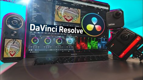 Davinci Resolve 360 video editing tutorial