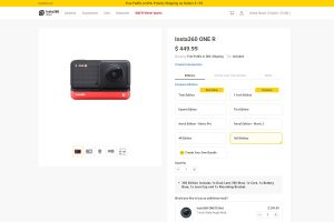 Insta360 One R 360 Edition now available