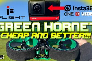 iFlight Green Hornet affordable cinewhoop for GoPro or Insta360 One R