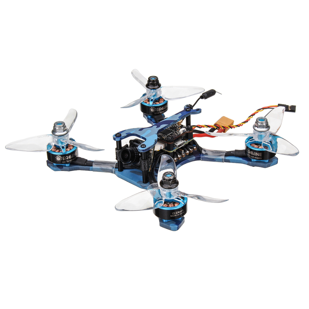 Typical FPV drone