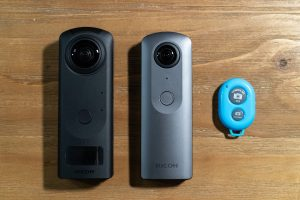 How to use bluetooth remote with Ricoh Theta V or Theta Z1