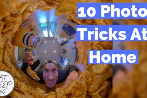 360 camera photo tricks at home