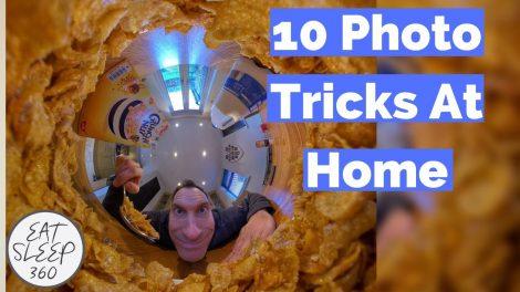 360 camera photo tricks at home