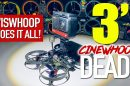 Eachine Viswhoop - smallest cinewhoop FPV drone for Insta360 One R or GoPro Hero