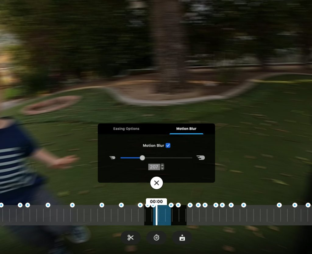 GoPro MAX gets motion blur